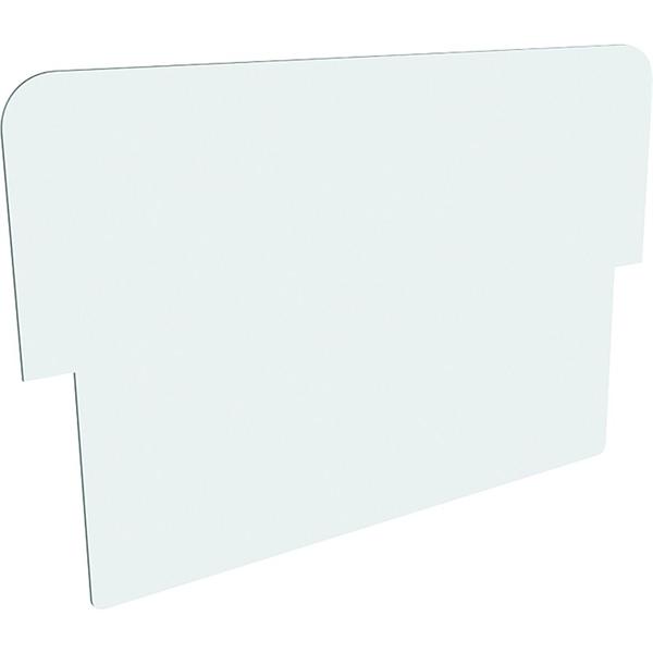 Image of   Logoplade hvid til Alu-Line Sandwich gadeskilt - A2 46 x 22 cm