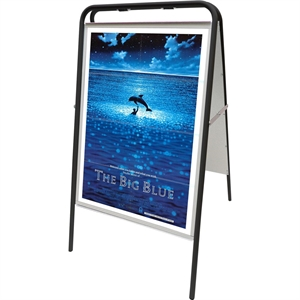 Expo Budget Sign plakatformat 50 x 70 cm SORT
