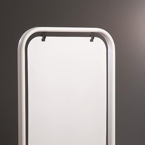 Image of   Plade til SWING SIGN PANEL 50x70 cm, hvid