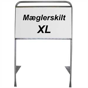 Estate Sign mæglerskilt XL 32mm 105 X 160 cm