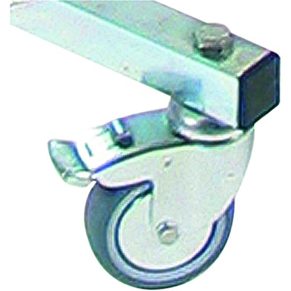 """Image of 3"""" hjul med bremse til Shop Impulz - 11 x 11 cm"""