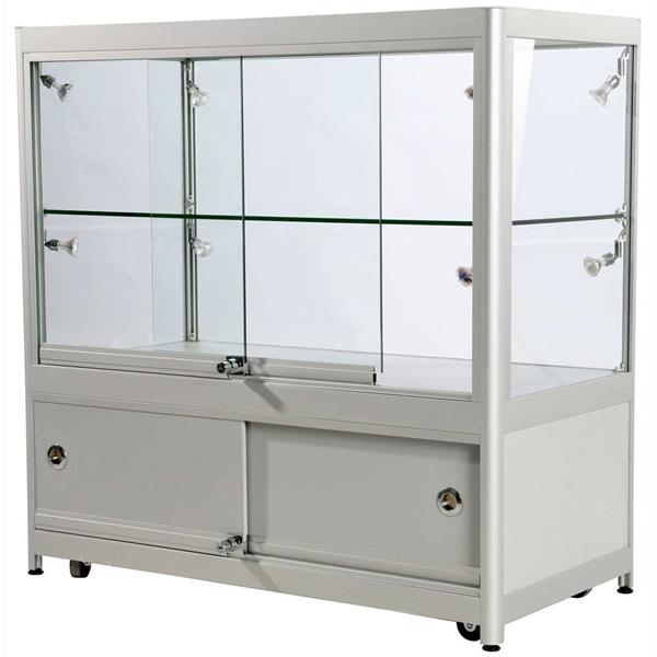 Glasmontre -  vitriner