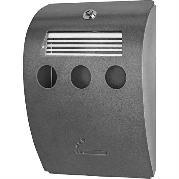 Askebæger - Cigarette Bin - galvaniseret stål