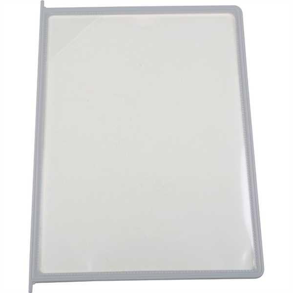 Image of   Plastik lomme til Reference Rack - A4 - Grå 10 stk.