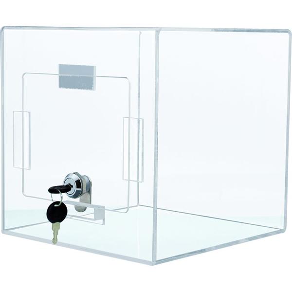 Image of   Boks til kort - Klar - 20,5 x 20,5 x 20,5 cm
