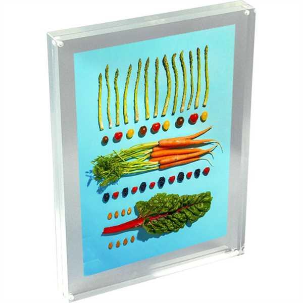 Image of   Blok menuholder - magnetisk - akryl - A3 29,7 x 42,0