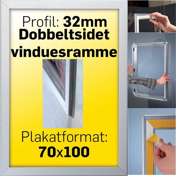 Snap-Frame til vindue montering