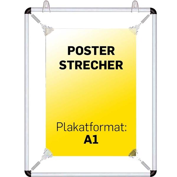 Poster strecher Krom - A1