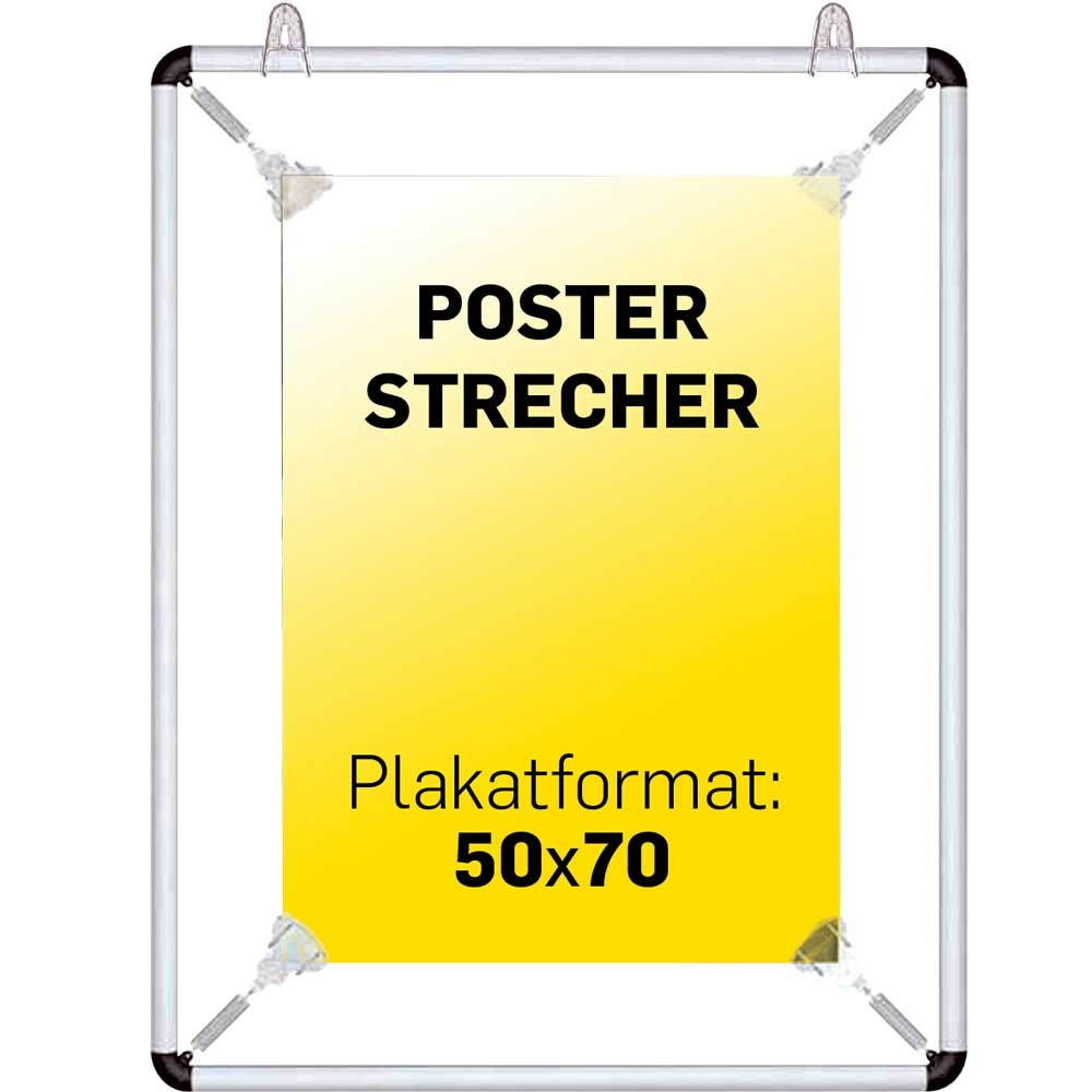 skilte gruppen poster strecher krom 50 x 70 cm. Black Bedroom Furniture Sets. Home Design Ideas