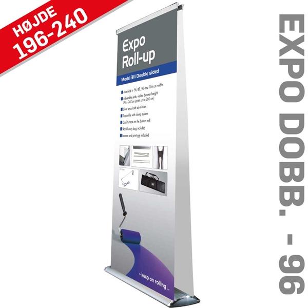EXPO - RollUp - dobbeltsidet