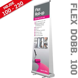 ROLL-UP BANNER FLEX - 100x107-237 cm Banner