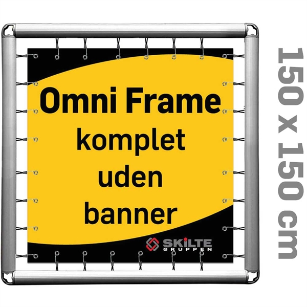 Omni Frame Banner -  Komplet 150 x 150 cm