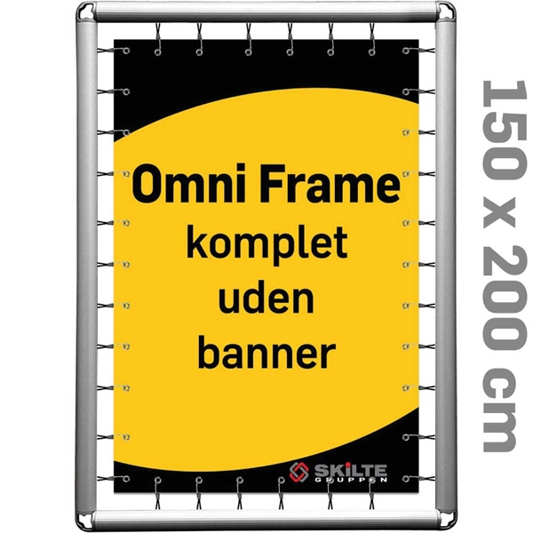 Omni Frame Banner -  Komplet 150 x 200 cm