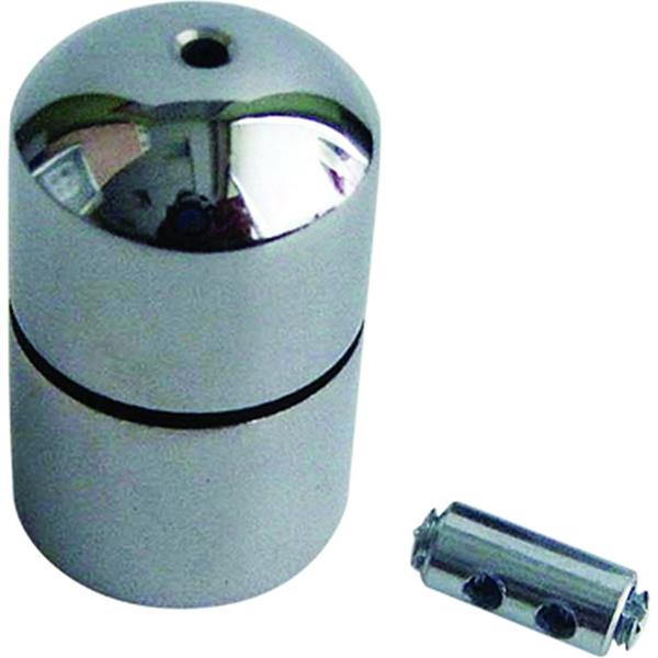 Image of   Ophængningsbeslag og wire til CROWN LED Outbox - 2 meter til dobbeltsidet ramme