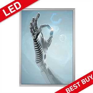 LED klapramme med lys - BEST BUY - A3