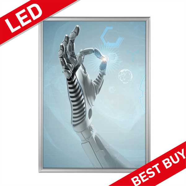 LED klapramme med lys - BEST BUY
