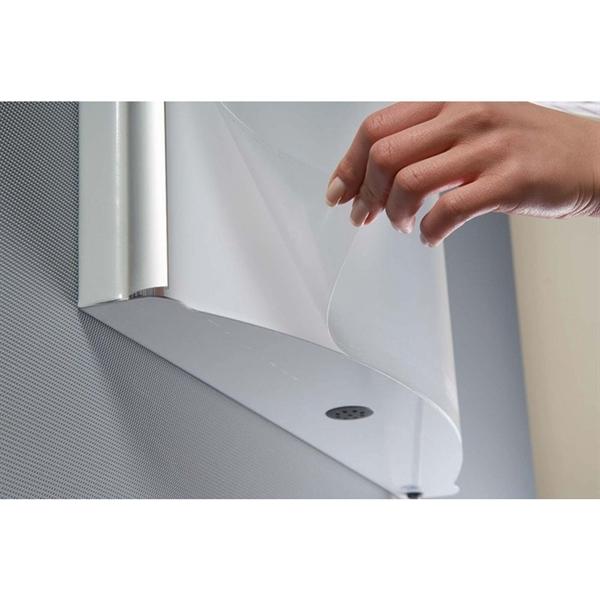 Image of   Aluprofil til Convex Light Box - Sølv - 170 cm høj