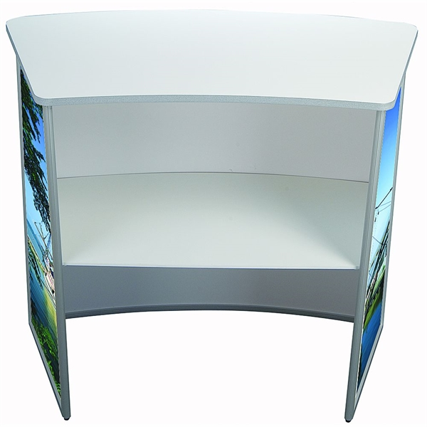 Image of   Bordlade, hvid - 106 x 58 cm