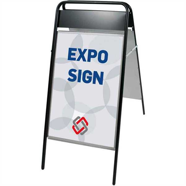 Image of   Expo-Sign Gadeskilte med logoplade