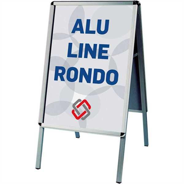 Alu-Line Standard Elox Rondo Alu/elox. - Poster: A0 - 84,1 x 119 cm