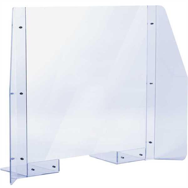 Hygiejne skærm til disk eller bord 90x65cm