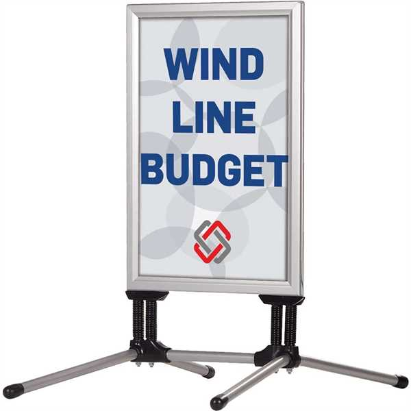 Image of   Wind-Line Budget alu gadeskilt 50 X 70 cm
