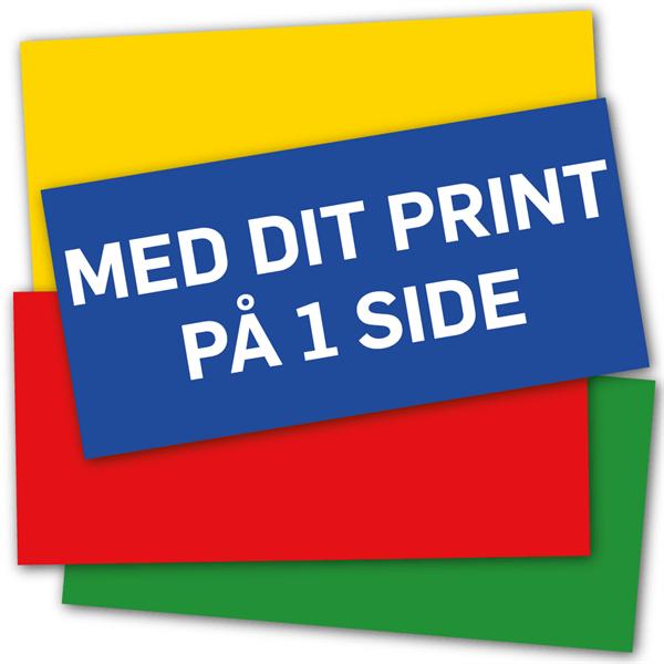 Image of   AluBond 3 mm palde 62,5 x 29,8 cm med tryk på 1 side
