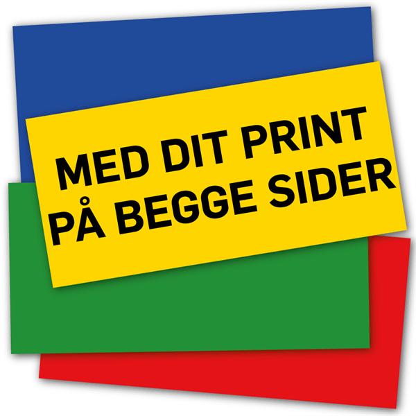Image of   AluBond 3 mm 62,5 x 29,8 cm med tryk på begge sider