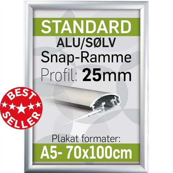 Plakatramme m 25 mm profil