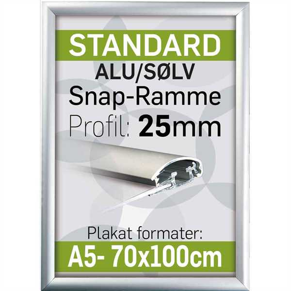 Alu Snap-Frame 25 mm