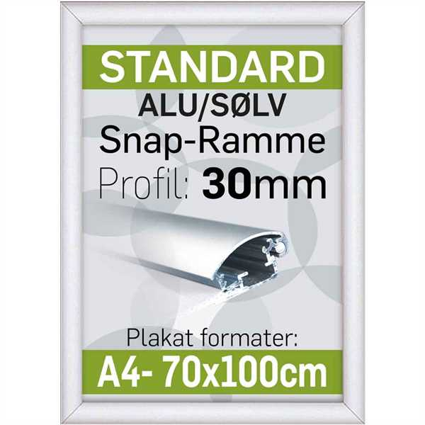 Alu Snap-Frame 30 mm