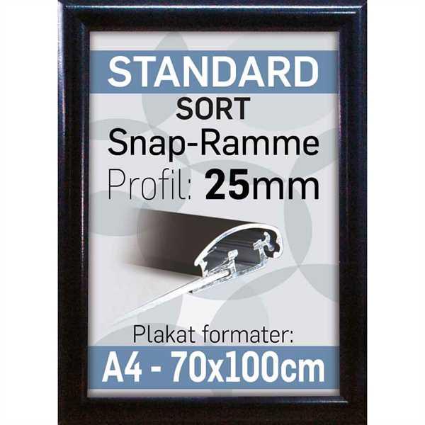 Alu Snap-Frame Sort 25 mm