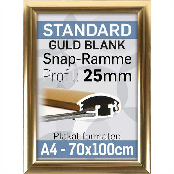 70 X 100 cm Plakatrammer