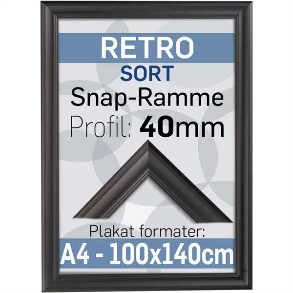 Antique Klap-Ramme i 40mm Alu