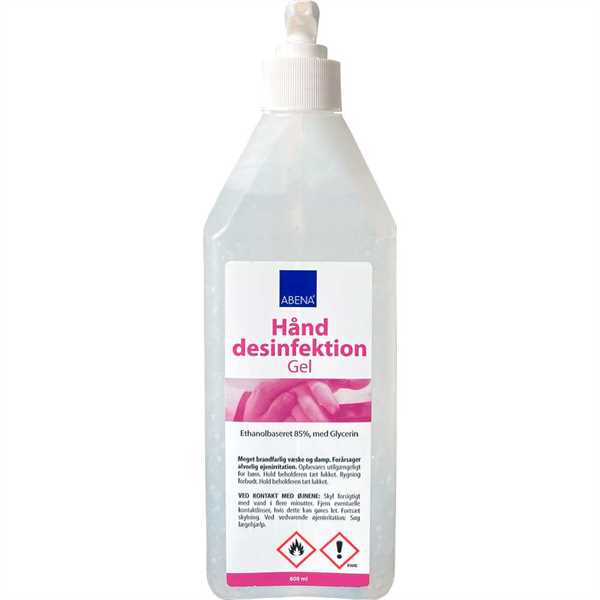 Håndsprit Gel / Hand sanitiser 75 ml tube
