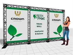 Image of   Crown TRUSS Wall messesytem 3-120 3 sektioner