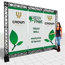 Image of   Crown TRUSS Wall messesytem 3-90