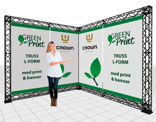 Crown Truss messe MED print